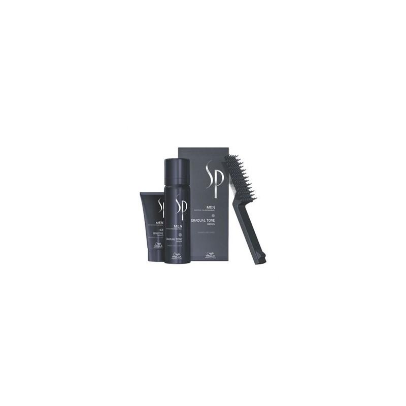WELLA PROFESSIONAL - SYSTEM PROFESSIONAL MEN - GRADUAL TONE CASTANO BROWN (60ml+ 30ml) Trattamento per capelli