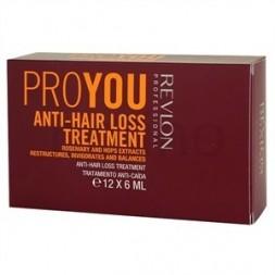 REVLON PROFESSIONAL - PROYOU - ANTI-HAIR LOSS TREATMENT (12x6ml) Trattamento anticaduta