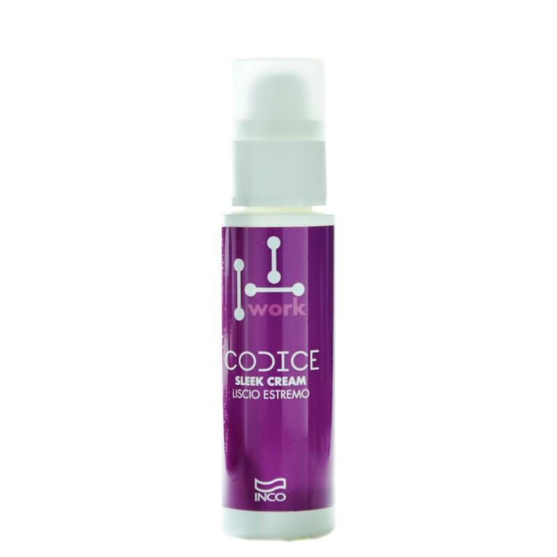 INCO - CODICE WORK - Sleek Cream (100ml) Styling / Finisher