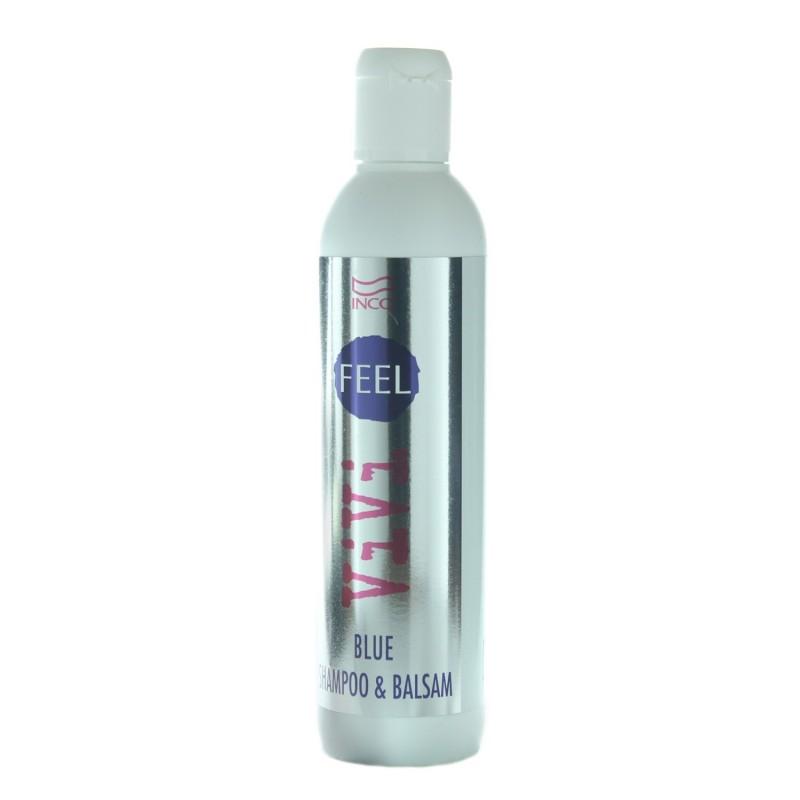 INCO - FEEL VIVI - Blue (250ml) Shampoo & Balsamo