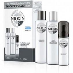 NIOXIN - SISTEMA 2 - Kit Shampoo + Balsamo + Trattamento