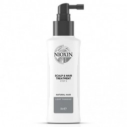 NIOXIN - SCALP & HAIR TREATMENT - NATURAL HAIR LIGHT THINNING (100ml) Trattamento volumizzante
