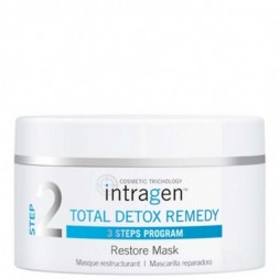 INTRAGEN - COSMETIC TRICHOLOGY - TOTAL DETOX REMEDY - RESTORE MASK (200ml) Maschera ristrutturante