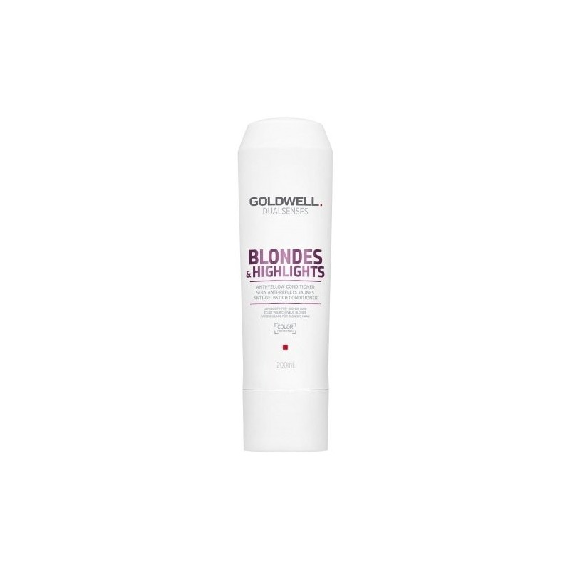GOLDWELL - DUALSENSES - BLONDES & HIGHLIGHTS - ANTI-YELLOW (200ml) Conditioner