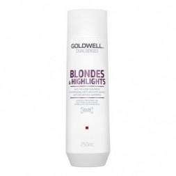 GOLDWELL - DUALSENSES - BLONDES & HIGHLIGHTS - ANTI-YELLOW (250ml) Shampoo
