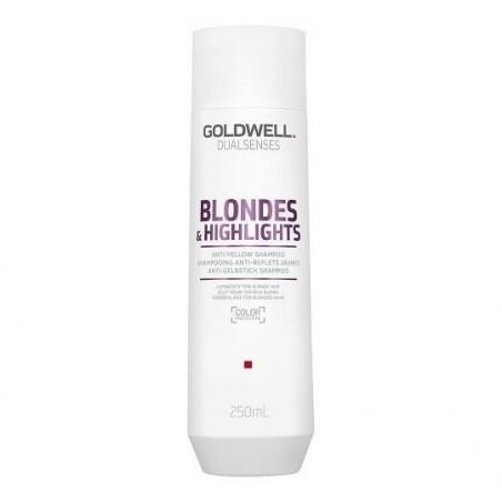 GOLDWELL - DUALSENSES - BLONDES & HIGHLIGHTS - ANTI-YELLOW (250ml) Shampoo