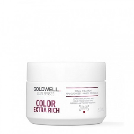 GOLDWELL - DUALSENSES - COLOR EXTRA RICH - 60sec Treatment (200ml) Trattamento Intensivo