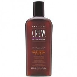 AMERICAN CREW - TRICHOLOGY - ANTI DANDRUFF + SEBUM CONTROL (250ml) Shampoo
