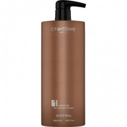 COTRIL - CREATIVE WALK KERATIN - PRE-TREATMENT SHAMPOO (1000ml) Shampoo