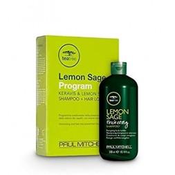 PAUL MITCHELL - LEMON SAGE PROGRAM - Keravis & Lemon Sage (Shampoo 300ml + 12 fiale da 6ml) Programma volumizzante