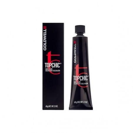 GOLDWELL - TOPCHIC - PERMANENT HAIR COLOR - 6N Biondo Scuro Naturale (60ml) Colore permanente