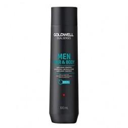 GOLDWELL - DUALSENSES MEN (300ml) Shampoo,Cura del Corpo