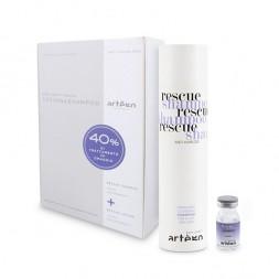 ARTE'GO - EASY CARE T RESCUE - Kit 14x8ml Kit Lozione + Shampoo per la caduta dei capelli