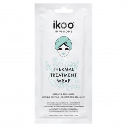 IKOO - INFUSIONS THERMAL TREATMENT WRAP HYDRATE e SHINE MASK (35g) Maschere
