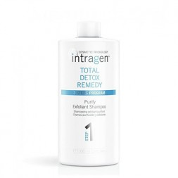 INTRAGEN - COSMETIC TRICHOLOGY - TOTAL DETOX REMEDY - Purify Exfoliant Shampoo Step 1(1000ml)