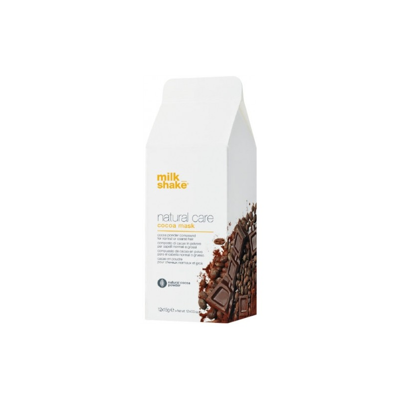 Z.ONE - MILK SHAKE - NATURAL CARE - COCOA MASK (12 x 10g) Maschera
