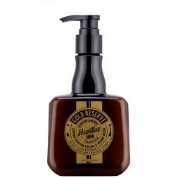 HUNTER 1114 - GOLD RESERVE - Luxury Shaving Cream e Beard Wash 250ml