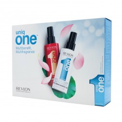 REVLON - UNIQ ONE - LOTUS FLOWER Hair Treatment & CLASSIC Hair Treatment Spray 150ml