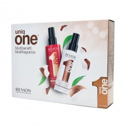 REVLON - UNIQ ONE - COCONUT Hair Treatment & CLASSIC Hair Treatment Spray (150ml)