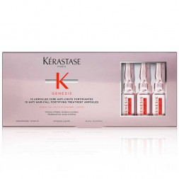 KERASTASE - GENESIS - AMPOULES CURE ANTI-CHUTE (10x6ml) Trattamento anti caduta