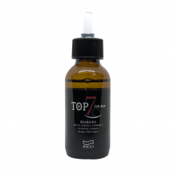 INCO - TOP SEVEN - BEARD OIL (50ml) Olio da Barba con Canapa e Vitamina E