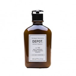DEPOT - Nr. 102 ANTI-DANDRUFF & SEBUM CONTROL SHAMPOO (250 ml) Antischuppenshampoo