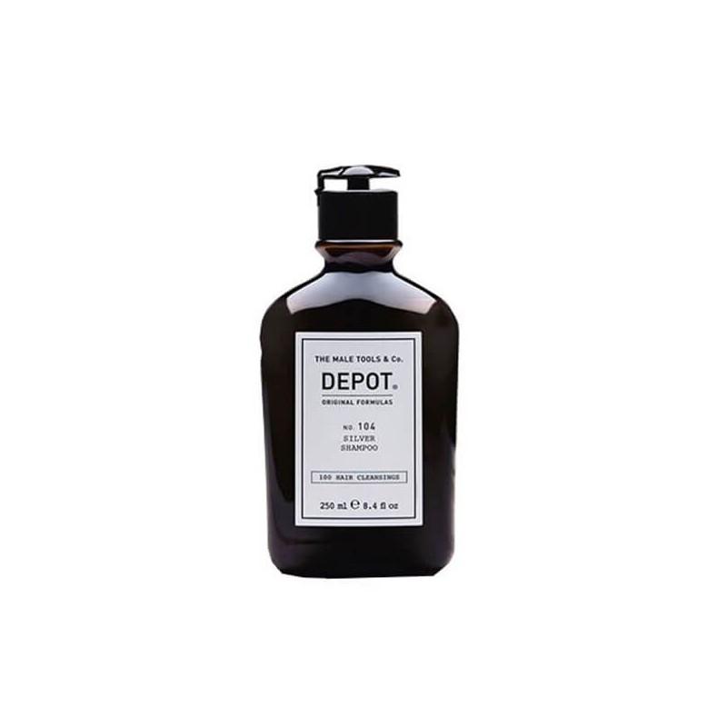 DEPOT - Nr. 104 SILVER SHAMPOO (250 ml) Shampoo für graues ...