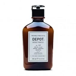 DEPOT - Nr. 107 WHITE CLAY SEBUM CONTROL SHAMPOO (250 ml) Anti-Fett-Shampoo