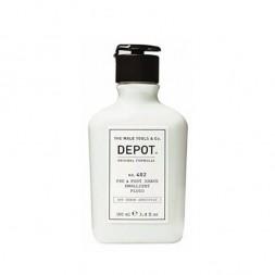 DEPOT - No. 402 EMOLLIENTE FLÜSSIGKEIT VOR & NACH DER RASIERUNG (100 ml) Erweichende Flüssigkeit vor und nach der Rasur