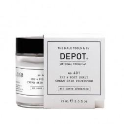DEPOT - No. 401 PRE & POST SHAVE CREAM HAUTSCHUTZ (75 ml) Post Shave Cream